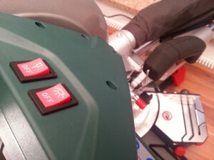 Metabo Kappsäge KGS 254 M Laser und LED-Beleuchtung