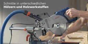 Bosch Professional Paneelsäge GCM 800 SJ im Einsatz