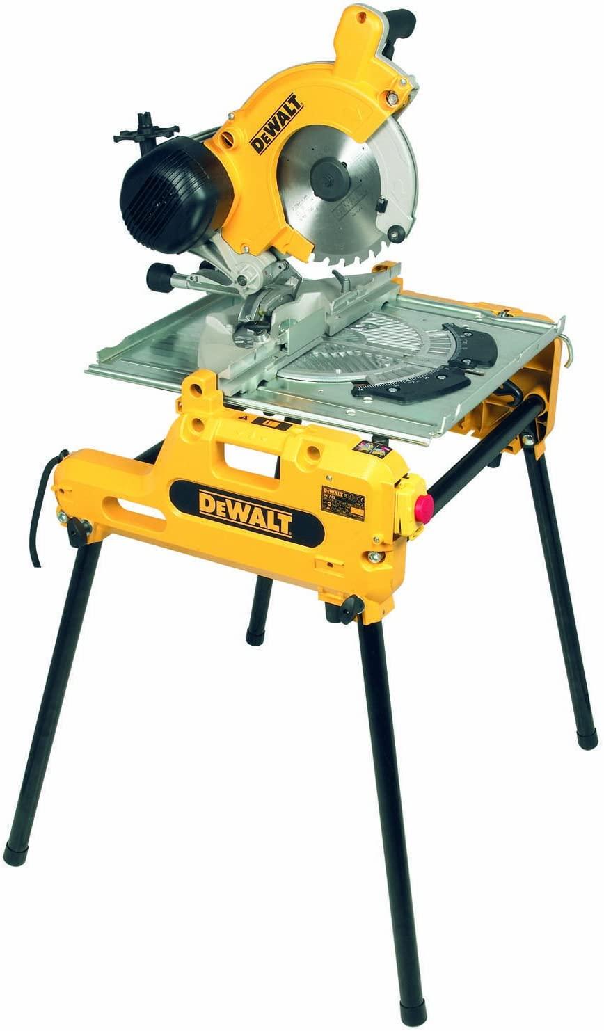 DeWalt DW743N-QS Tisch-, Kapp- und Gehrungssäge