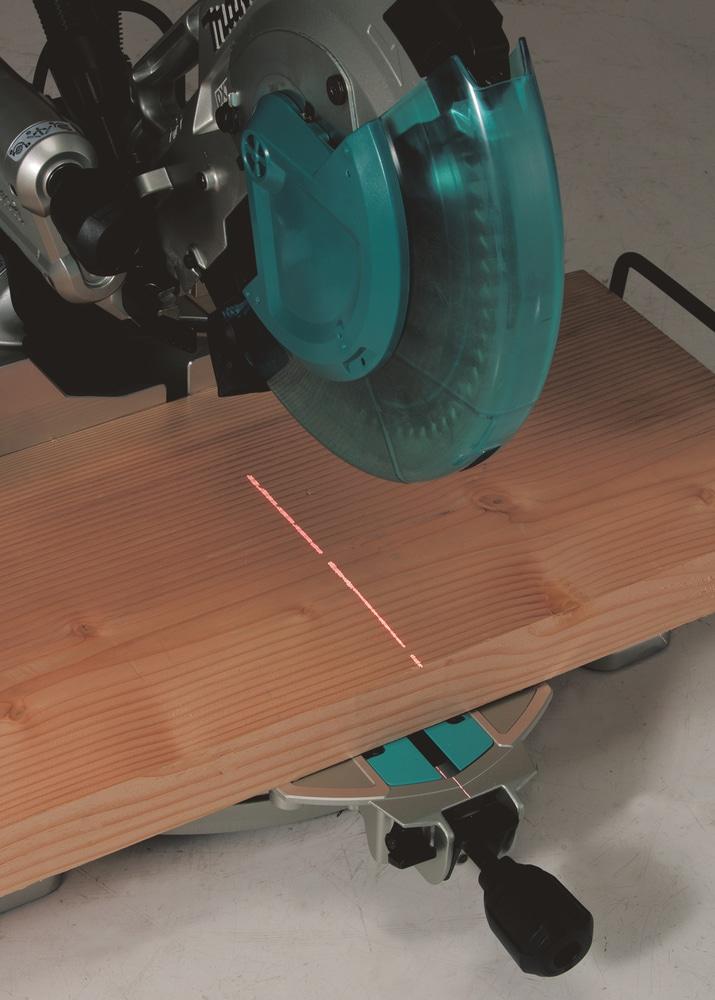 Makita LS1019L Laser im Einsatz