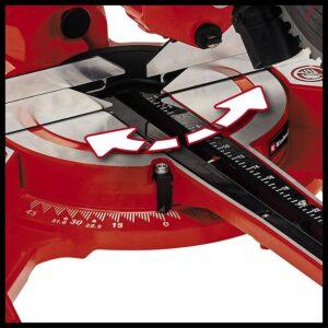 Einhell TC-SM 2131-1 Dual Ansicht Winkel und Drehteller